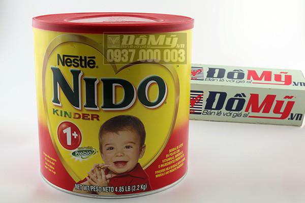 Sữa Nido Kinder 1+ chống táo bón 2.2kg của Mỹ