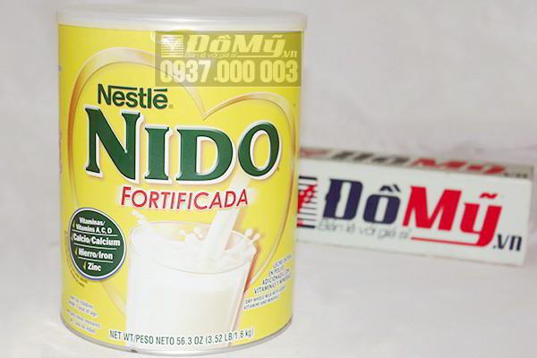 Sữa tươi dạng bột Nestle Nido Fortificada 1,6 Kg của Thụy Sĩ