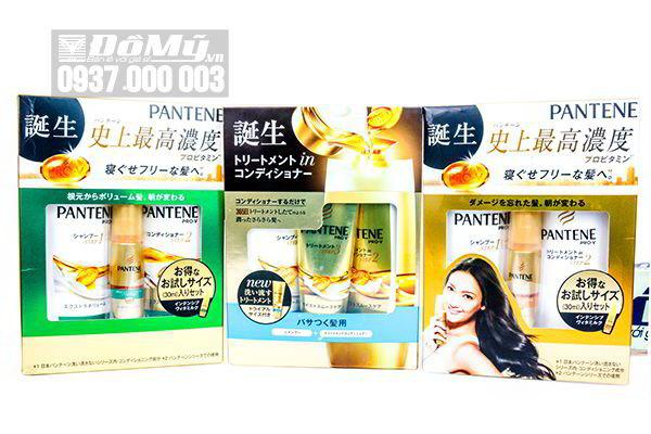 Set dầu gội, xả chăm sóc phục hồi tóc Pantene Pro – V của Nhật