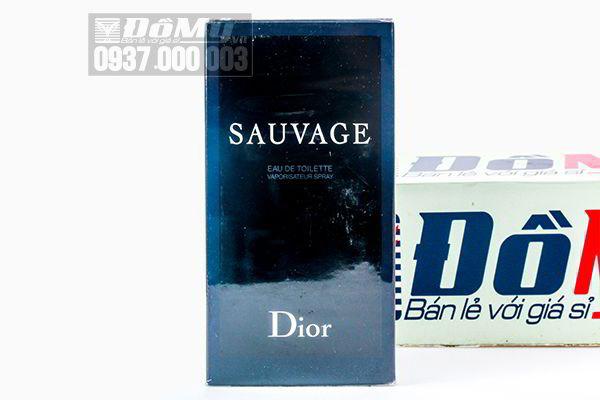 Nước hoa nam Dior Sauvage  Eau De Toilette 100ml của Pháp