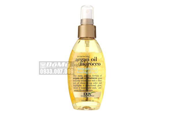 Dầu dưỡng tóc OGX Renewing Argan Oil Of Morocco Healing Dry Oil 118ml của Mỹ