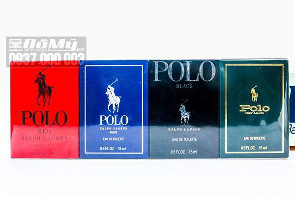 Bộ nước hoa Ralph Lauren Polo 4 chai 15ml