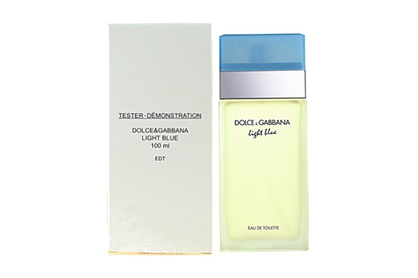 Nước hoa nữ tester DOLCE and GABBANA Light Blue EDT 100ml (tester)