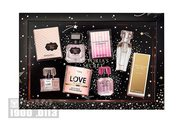 Set 4 Nước Hoa Mini Victoria's Secret Best-Of Eau de Perfum Gift Set (7.5ml x 4)
