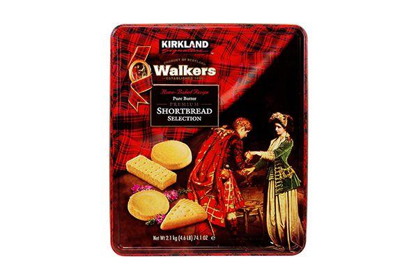 Bánh quy bơ Kirkland Signature Walkers Premium Shortbread Selection 2.1kg