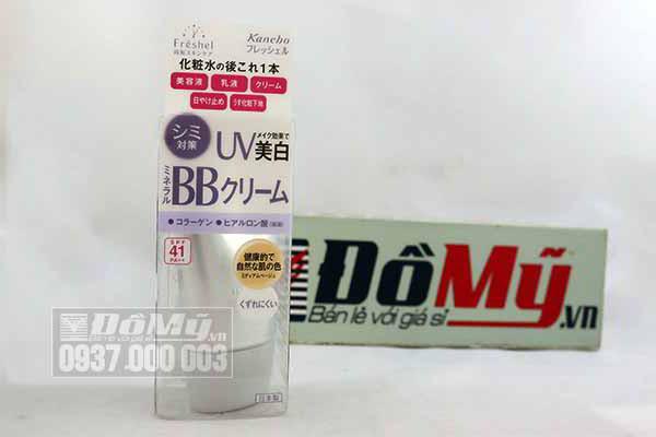 Kem dưỡng da trang điểm BB Cream Kanebo Freshel Mineral UV SPF41 PA++ từ Nhật Bản