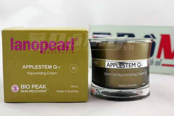 Kem chống lão hóa, giúp dữ ẩm cho da Lanopearl Bio Peak Applestem Q10 của Úc loại 50ml