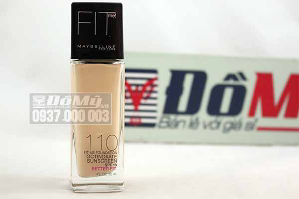 Kem nền Maybelline New York Fit Me Foundation 110 của Mỹ