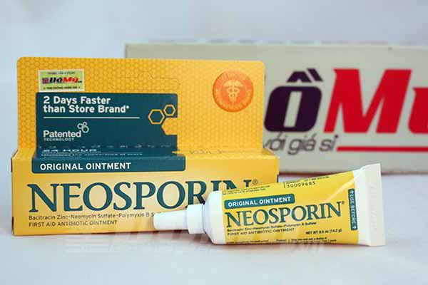 Kem mỡ điều trị vết thương Neosporin triple antibiotic ointment loại 14.2g