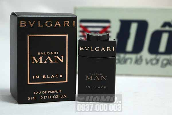 Nước hoa Bvlgari Man In Black 5ml