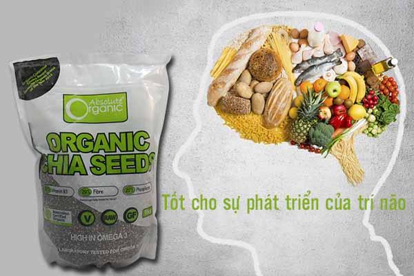 Hạt Chia Úc - Chia Seeds High In Omega 3 Absolute Organic2