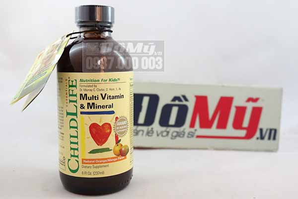 ChildLife Vitamin tổng hợp 237ml