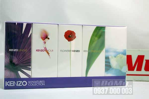 Set nước hoa Mini KENZO gồm 5 mẫu