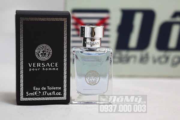 Nước hoa nam Versace Pour Homme 5ml