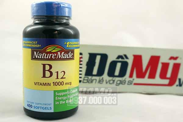 Vitamin Nature Made B12 (1,000 mcg) 400 viên