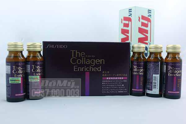 Nước uống tăng cường collagen Shiseido The Collagen Enriched của Nhật