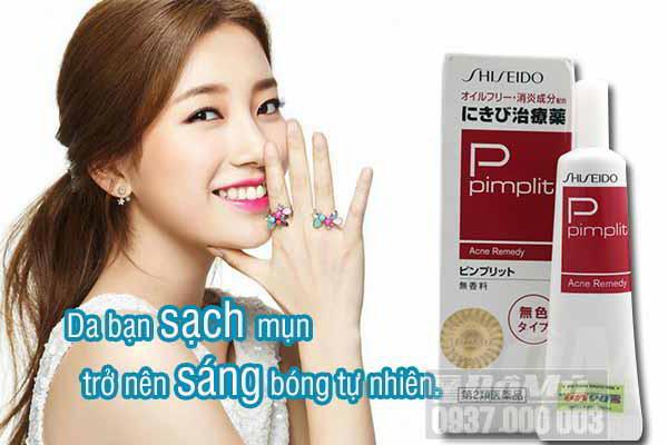 Kem bôi đặc trị mụn Shiseido Pimplit Nhật Bản2