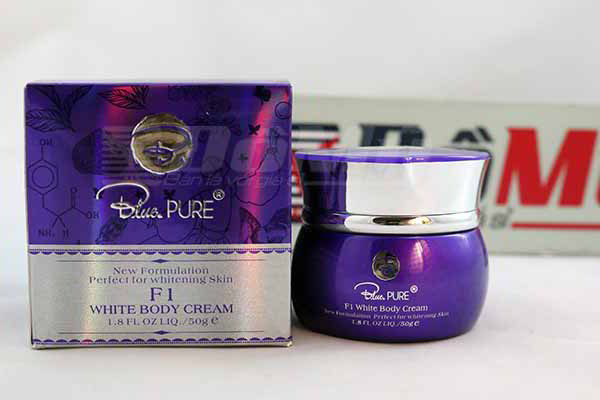 Kem làm trắng toàn thân Blue pure  F1 White Body Cream