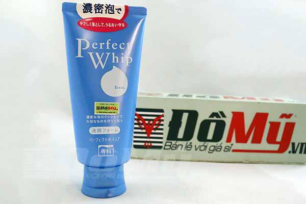 Sữa Rửa Mặt Shiseido Perfect Whip Foam Của Nhật-Tuýp 120g