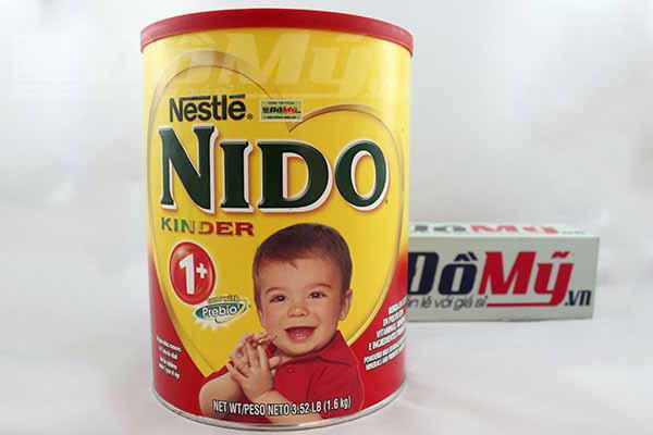 Hình tổng thể Sữa Nido Kinder 1+ 1.6kg (chống táo bón)
