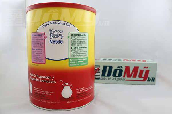 Mặt bên sản phẩm Sữa Nido Kinder 1+ 1.6kg