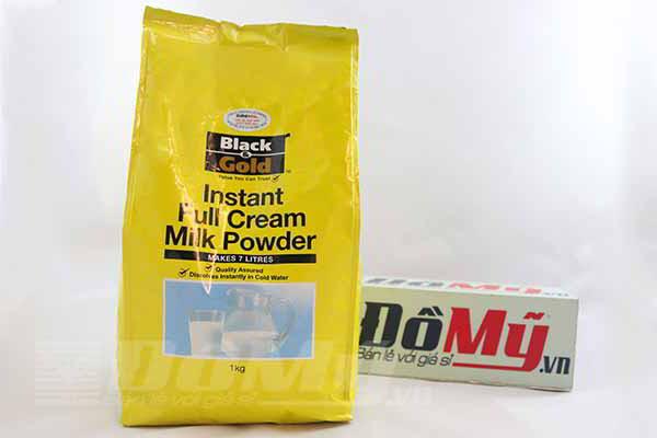 Sữa bột nguyên kem Black & Gold 1kg từ Úc