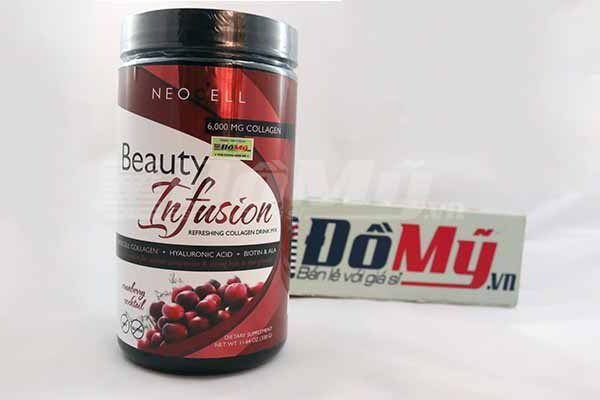 Neocell Beauty Infusion Cranberry Cocktail 450g của Mỹ