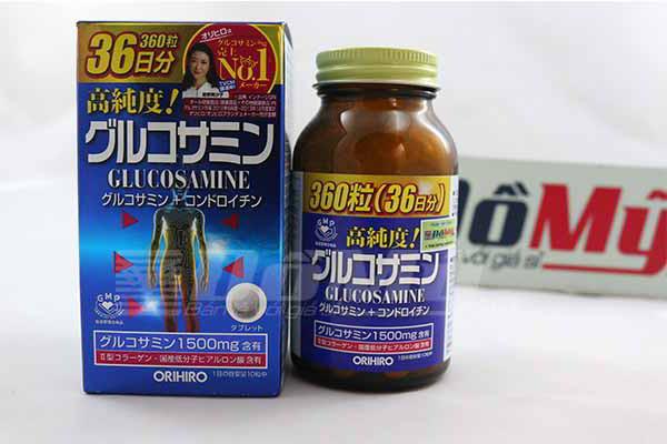 Viên uống Glucosamine 1500mg ORIHIRO 360 viên