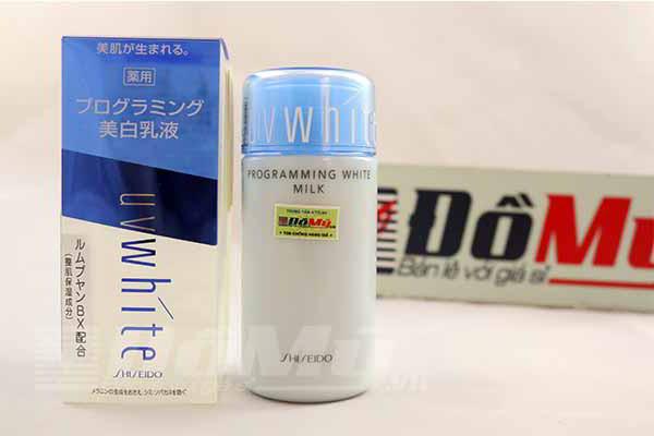 Sữa dưỡng ẩm trắng da  White Programming Milk
