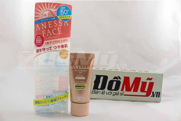 Kem nền Anessa Face BB Cream Shiseido của Nhật Bản