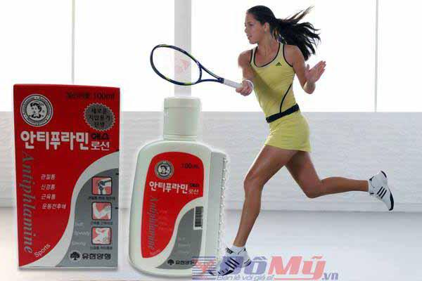 ầu nóng xoa bóp Antiphlamine (100ml) của Hàn Quốc 2