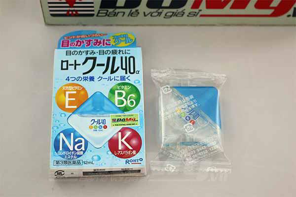 Chai nhỏ mắt Rohto Vita 40 Nhật Bản