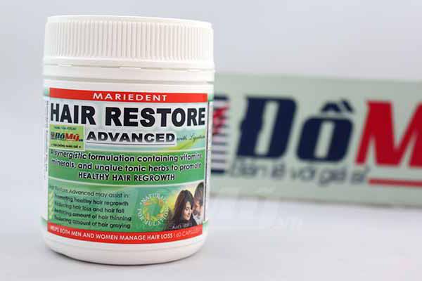 Viên uống chống rụng tóc Hair Restore Advance kích thích mọc tóc của Úc