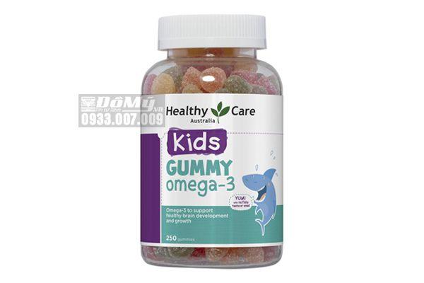 Kẹo Gummy Healthy Care Omega-3 250 Viên
