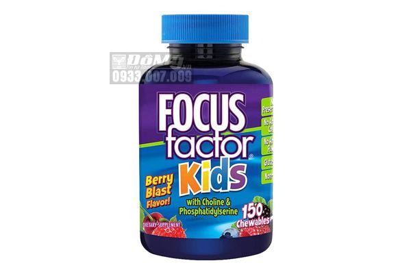 Kẹo bổ não cho trẻ em Focus Factor For Kid 150 viên