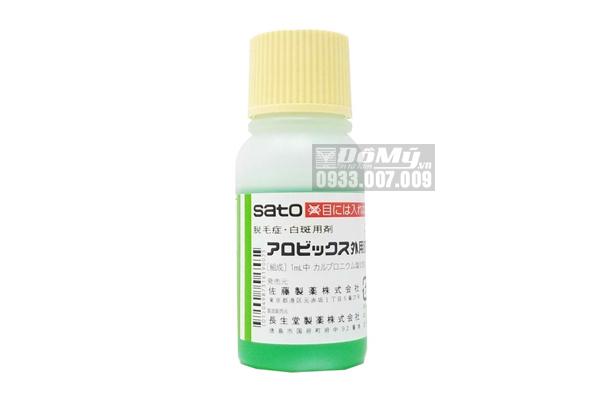Tinh Chất Kích Thích Mọc Tóc Sato AROVICS Solutions 5% Nhật Bản