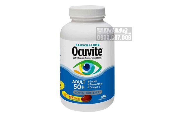 Viên uống bổ mắt Ocuvite Adult 50+ dành cho người trên 50 tuổi 150 viên của Mỹ