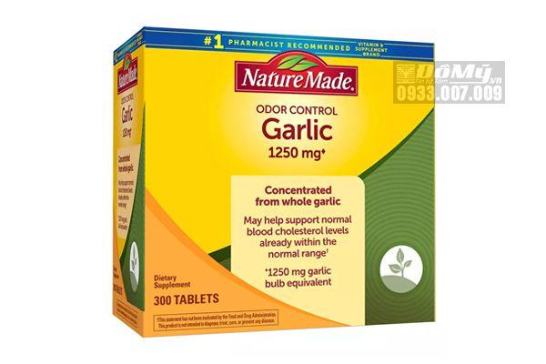 Viên uống tinh dầu tỏi Nature Made Odor Garlic Control 300 viên