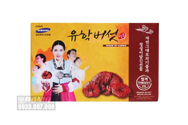 Nấm Linh Chi Hàn Quốc Cô Gái Geumsang (Hộp 1kg)