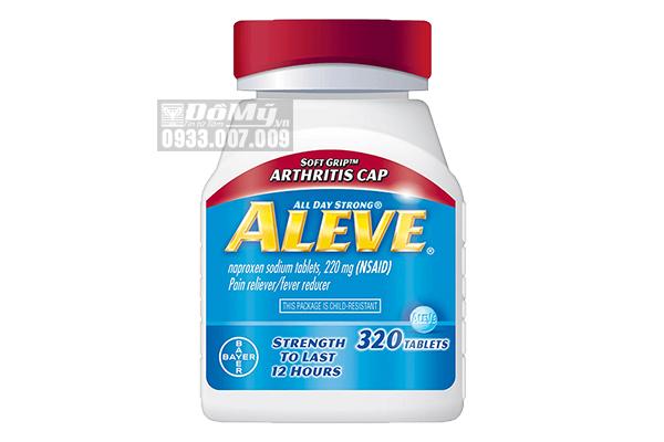 Viên Uống Giảm Đau Nhức, Hạ Sốt Aleve Pain Reliever Arthristis Cap 320 Viên