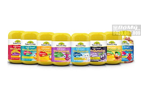 Kẹo Nature's Way Kids Smart Vita Gummies Milti Vitamin for Fussy Eaters
