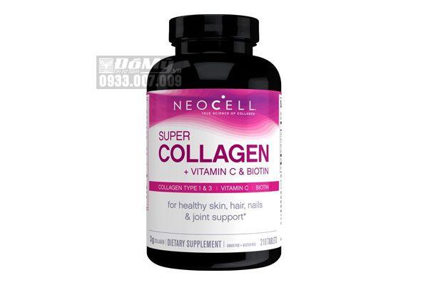 Viên Uống NeoCell Super Collagen Types 1 & 3 + C 6,000mg 210 viên