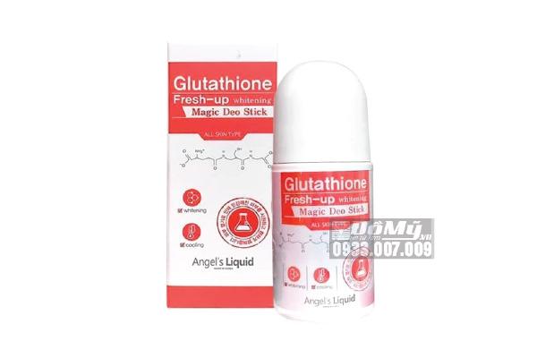 Lăn Khử Mùi Glutathione Fresh Up Whitening Angel's Liquid
