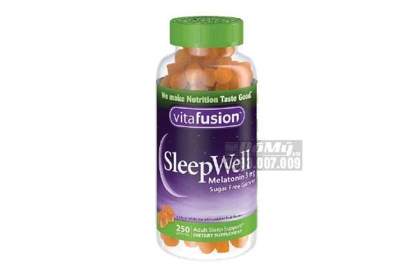 Kẹo Vitafusion Giúp Ngủ Ngon Giấc Sleep Well 250 Viên