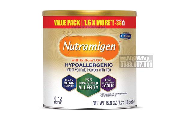 Sữa Enfamil Nutramigen từ 0-12 Tháng Tuổi Dị Ứng Đạm Sữa Bò 561g
