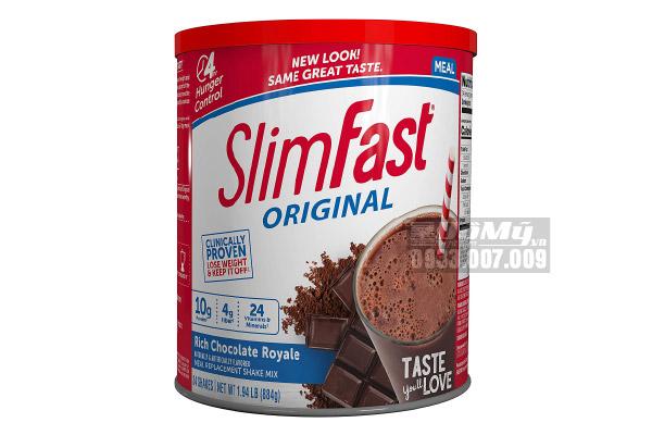Bột Giảm Cân Vanilla SlimFast 364gram Của Mỹ