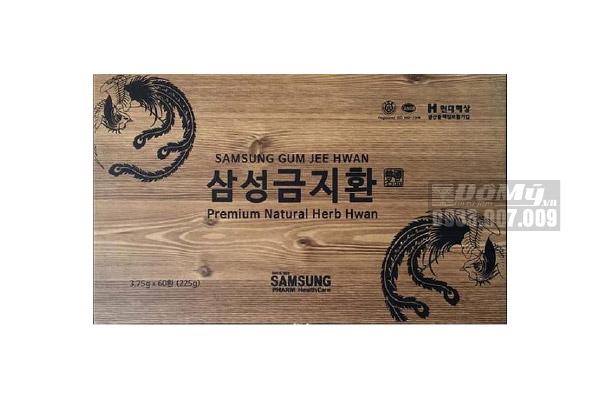 Viên Bổ Não An Cung Ngưu Hoàng Hoàn 60 viên Hàn Quốc