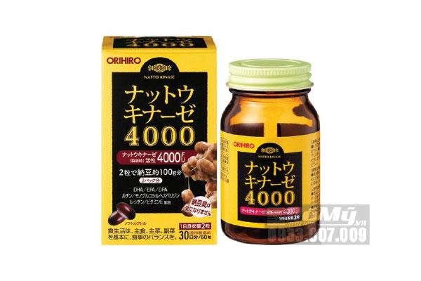 Viên uống Chống Đột Quỵ Orihiro 4000FU Nhật Bản