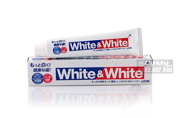 Kem Đánh Răng White & White Lion