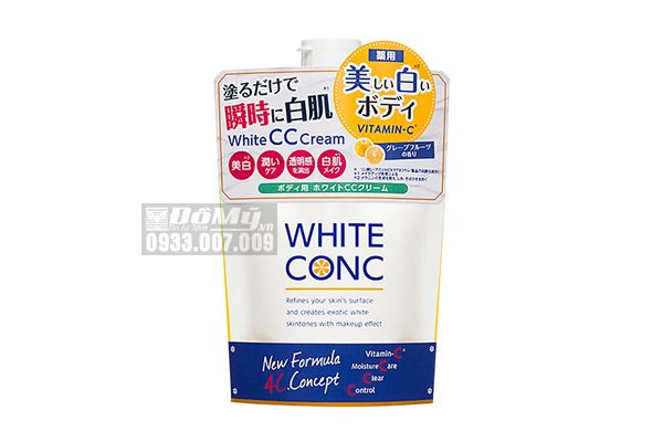 Sữa Dưỡng Thể White Conc CC Cream Vitamin C 200g - Nhật